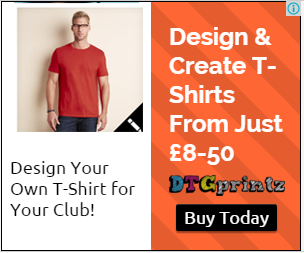 Create printed t shirt from £8.50